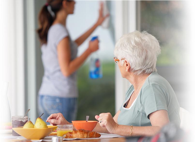 Entretien ménager, coopérative de service à domicile